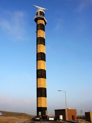 SeaDarQ on the radar tower in Rotterdam